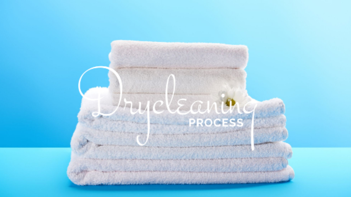 Image showing dry cleaning process