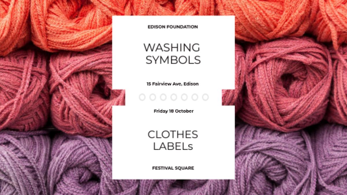 Images showing clothe label
